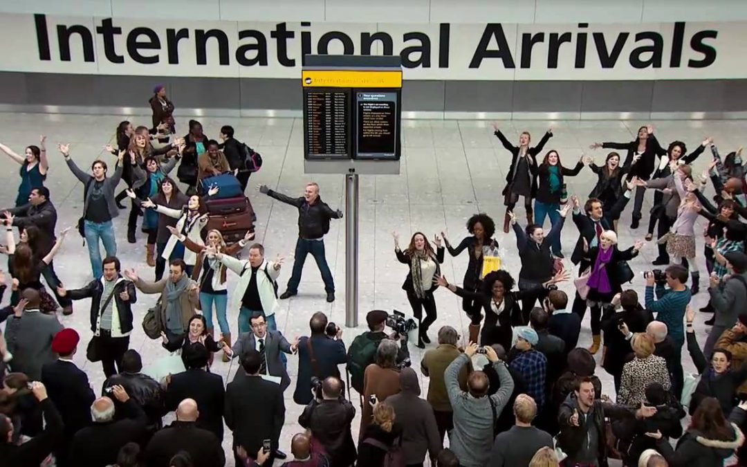 What a Welcome Home – Heathrow Terminal 5 and T-Mobile