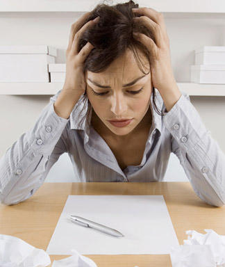 Overworked and Stressed? – Here's an infographic of tell-tale signs