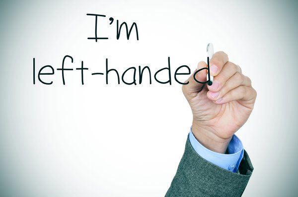 Left Handed People Are Different, Because They're Different