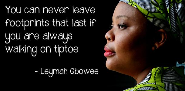 Leymah Roberta Gbowee Liberian peace activist