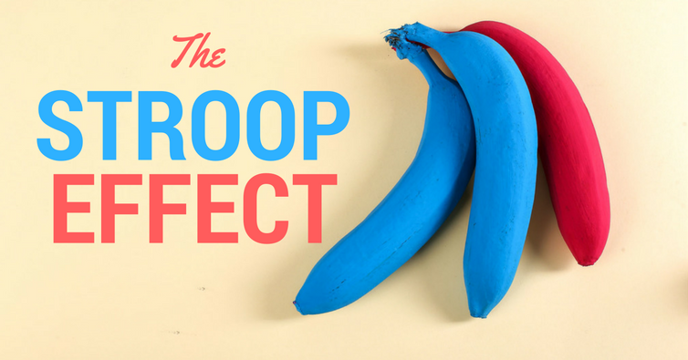 Words, Colours and the Stroop Effect