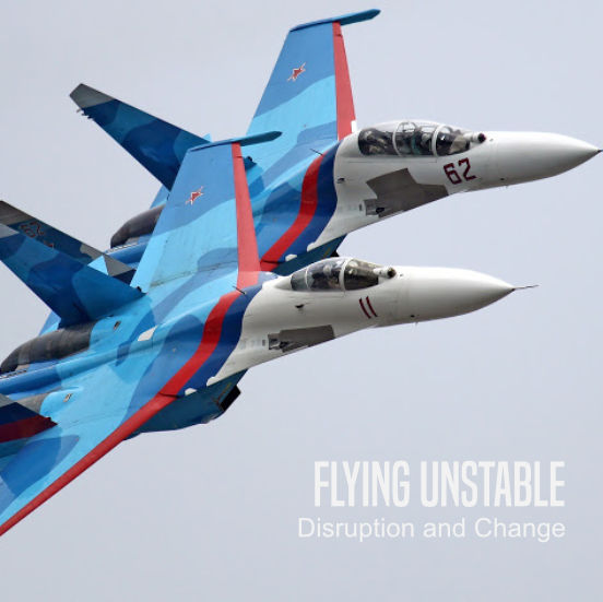 disruption and change presentation topic flying unstable