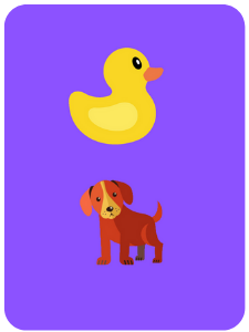 ducks and dogs creativity